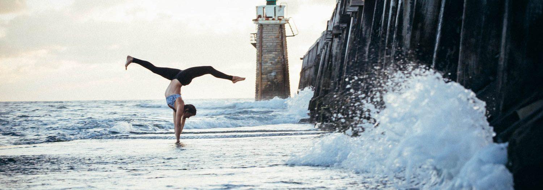 Photoshoot Caroline's Yoga Capbreton