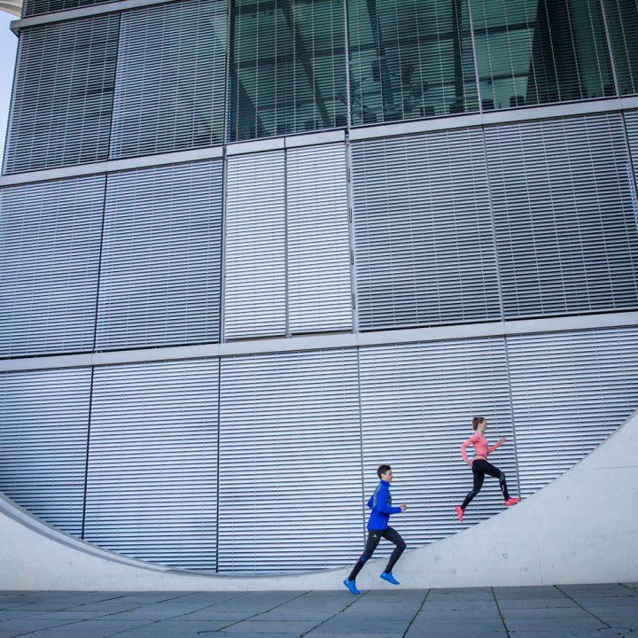 Photoshoot Salomon running in Berlin